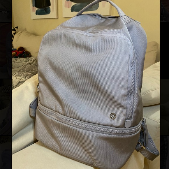Lululemon 'City Adventurer' Backpack chrome 17L